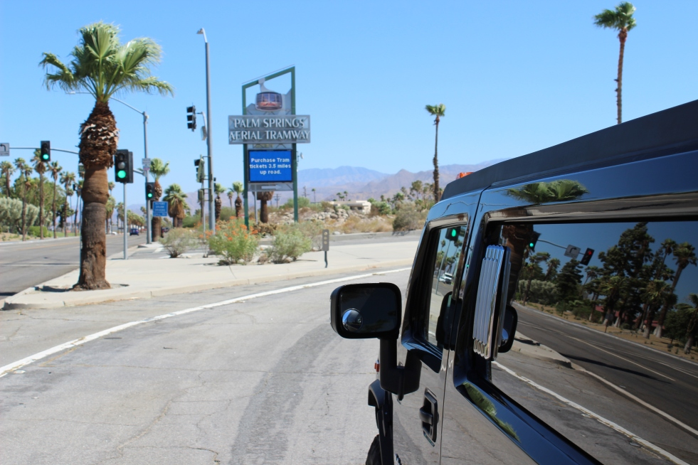 limo in Palm Springs